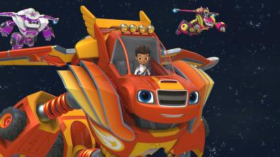Blaze y los Monster Machines - Robots en el espacio