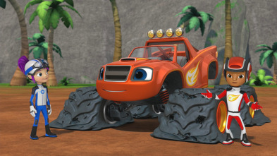 Blaze y los Monster Machines - Ruedas potentes