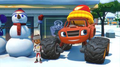 Blaze y los Monster Machines - Espectáculo del día de nieve