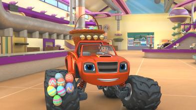 Blaze y los Monster Machines - El reto de los 100 huevos