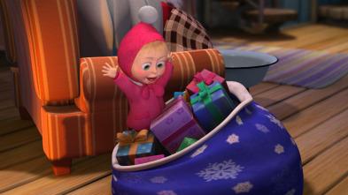 Masha y el Oso - ¡Un, dos, tres! Que el árbol de Navidad brille otra vez!