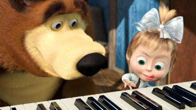 Masha y el Oso - La clase de piano