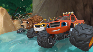 Blaze y los Monster Machines - La isla de los animales