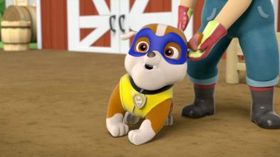La Patrulla Canina - La Patrulla salva a un super perro / La Patrulla salva a un super robot de Ryder
