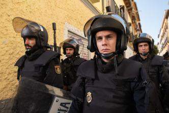 Antidisturbios - López