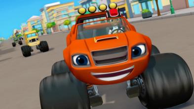 Blaze y los Monster Machines - Las ruedas súper saltarinas