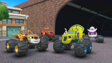 Blaze y los Monster Machines - La búsqueda del trofeo