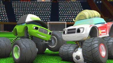 Blaze y los Monster Machines - Los juegos de la medalla de oro