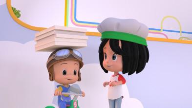 Cleo y Cuquín - El secreto está en la pizza