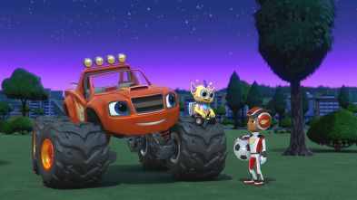 Blaze y los Monster Machines - ¡Aventura de Aliens del Espacio!