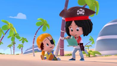 Cleo y Cuquín - La leyenda del capitán garra