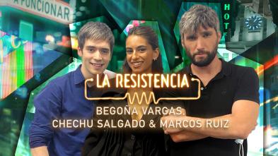 La Resistencia - Begoña Vargas, Chechu Salgado y Marcos Ruiz