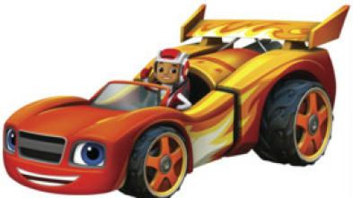 Blaze y los Monster Machines - ¡El equipo mecánico!