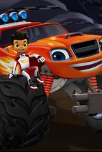 Blaze y los Monster Machines - El desafío de coches por equipos