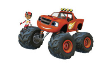 Blaze y los Monster Machines - Poder de robot