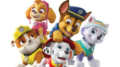 La patrulla canina Single Story - La patrulla salva el libromovil