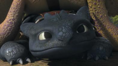 Dragones: Los Defensores de Mema - Viaje relámpago a la isla de los gusanos de fuego