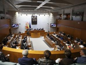 Aragón en pleno
