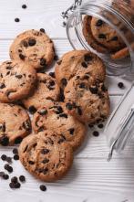 ¿Cómo se elabora? - Patatas fritas, cookies de chocolate y pastel de cabra de mar.