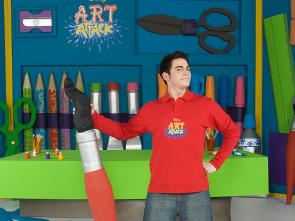Art Attack - Paleta Organizadora