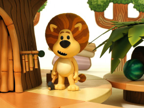 Raa Raa, el león ruidoso - El león comparte