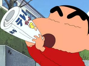 Shin Chan - Competimos a piedra, papel, tijeras con mamá / Vienen a vender seguros a la escuela