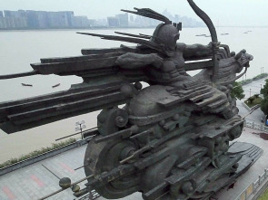 China desde el cielo - Costa dinámica