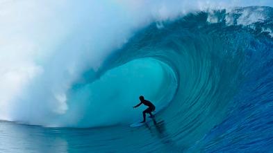 Las olas en Tahiti