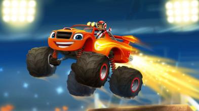 Blaze y los Monster Machines - Carrera hasta la roca del Águila