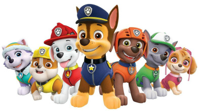 La patrulla canina Single Story - La Patrulla salva a un dragón juguetón