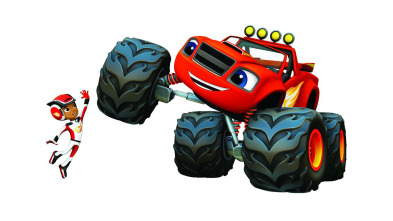 Blaze y los Monster Machines - La acampada de la Familia Pickle