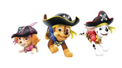 La Patrulla Canina - La patrulla salva a una familia de murciélagos / La patrulla salva al monstruo de barro