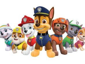 La patrulla canina Single Story - La patrulla salva un dirigible