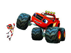 Blaze y los Monster Machines - Problemas con el T. Rex.