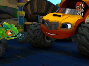 Blaze y los Monster Machines - Bñaze camión articulado