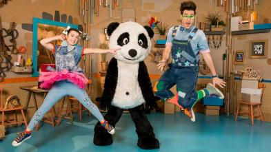 Panda y la cabaña de cartón - Panda gladiador