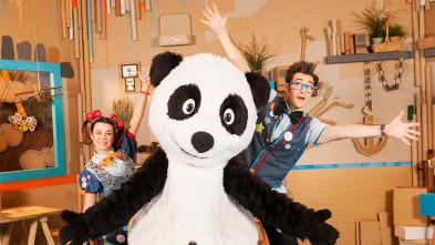 Panda y la cabaña de cartón - Disfraz de mosca