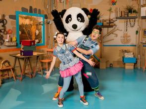 Panda y la cabaña de cartón - Un campo de golf