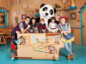 Panda y la cabaña de cartón - La cocina de cartón