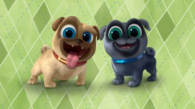 Bingo y Rolly - En algún lugar bajo el arcoíris/ Cachorros yoguis