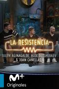 La Resistencia: Selección  - J. Aguinagalde, A. Dujshebaev y J. Cañellas - Entrevista - 28.01.20