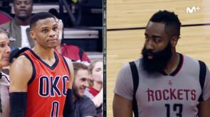 Westbrook vs Harden, duelo de MVP