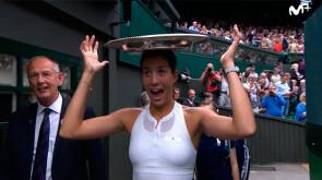 El Wimbledon de Garbiñe Muguruza