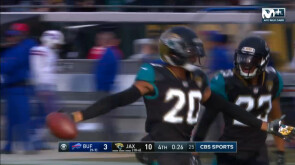 Wildcard Playoffs: Jaguars 10-3 Bills
