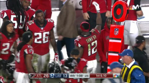 Wildcard Playoffs: Rams 13-26 Falcons
