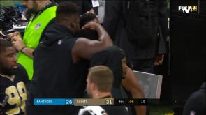 Wildcard Playoffs: Saints 31-26 Panthers