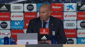 Zidane, 'contento' con sus jugadores