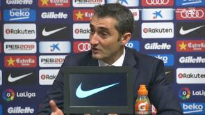 Valverde no quiere al Real Madrid en cuartos