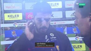Luis Suárez, palabra de goleador