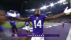 Un touchdown histórico para Vikings